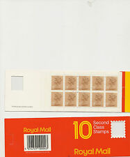 BAR CODE BOOKLET GI1 g on cover face value £1-30