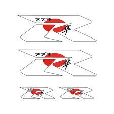 4 Stickers plastifiés R ZERO GSXR GSR Hayabusa Suzuki