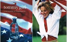 PUBLICITE  1996  USA  TOMMY HILFIGER ( 2 pages) parfum GIRL