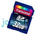 Transcend 32GB 32G SD SDHC Flash Card Memory Class 10