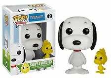 Funko Pop #49 PEANUTS - Snoopy & Woodstock Vinyl Figure Collectible Toy