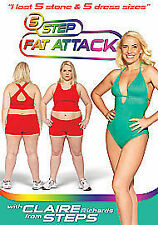 5 Step Fat Attack with Claire Richards from Steps [DVD], Good DVD, Tom Goodall,