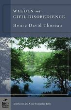 Walden and Civil Disobedience by Henry David Thoreau- Barnes & Noble Paperback