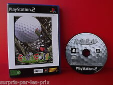 Go Go Golf - JEU PLAYSTATION 2 - PS2