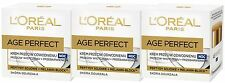 3 x 50ml LOreal Paris Age Perfect Re-hydrating Night Cream (Anti Age Spots)