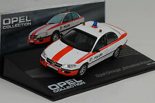 1994 - 1998 Opel Omega suizo policía 1:43 Ixo Altaya Collection