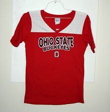 Young Mens Ohio State BuckeyesT-shirt Jersey Team Football T Shirt New Tags LG