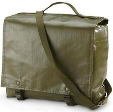 Genuine MILITARE Satchel Shoulder Messenger Bag Vintage Esercito PESCA IMPERMEABILE