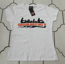 EXC GENUINE HARLEY DAVIDSON EVENT LADIES WOMEN GIRLS T SHIRT TOP M LADIES FIT