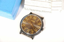 RAKETA - Russian Wrist Watch New NOS Never Used for Black Fans Made in Russia