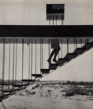 1955/72 Vintage 11x14 DISAPPEARING ACT New York Stairs Sand Art By ANDRE KERTESZ