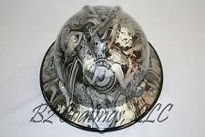New Custom MSA V-Gard (Full Brim) Hard Hat W/Fas-Trac Ratchet Naughty Boy