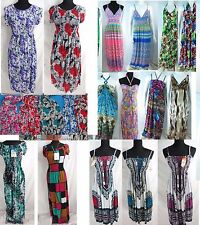 lot of 10 retro boho sexy women clothing short and long dress sundresses beach