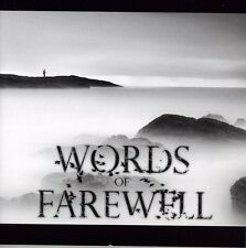 Immersion - Words Of Farewell (2012, CD NEUF)