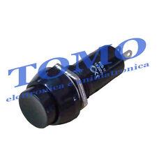 Pulsante da pannello nero 1 contatto Normalmente aperto PS11-BBK