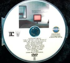 DEPECHE MODE Only When I Lose Myself Record Company Promo Music Video DVD NOT CD