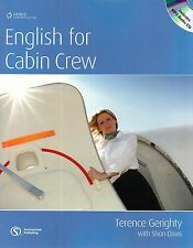 HEINLE / CENGAGE Learning ENGLISH FOR CABIN CREW with Answer Key & MP3 CD @New@