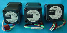 3 BRAND NEW VEXTA 2 PHASE 6WIRES STEPPING MOTOR MO#PK245-01AA-C24 ROTATION MOTOR