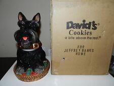 David's Cookie Jeffrey Banks Aberdeen Terrier, Scottie Dog Scotty Cookie Jar
