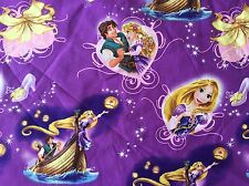 FQ DISNEY TANGLED RAPUNZEL LANTERNS  FABRIC CHARACTER FILM