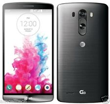 LG G3 D850 AT&T UNLOCKED Android 4.4.2 LTE 32GB 13MP Phone Metalic Black GREAT