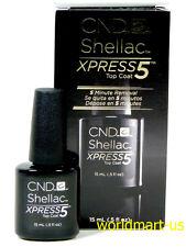 CND Shellac Gel UV/LED Soak-Off Large Xpress5 Top Coat 15ml/0.5oz