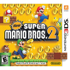New Super Mario Bros 2 -- Nintendo 3DS -- BRAND NEW & SEALED