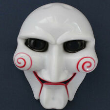 Saw Movie Puppet Halloween Mask Head Creepy Scary Horror Cosplay Unisex
