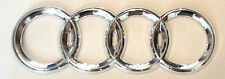 AUDI CHROME REAR BOOT BADGE EMBLEM LOGO A3 A4 A6 B4