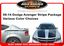 DODGE AVENGER CUSTOM STRIPE KIT , GRAPHIC  2008 -14  R/T