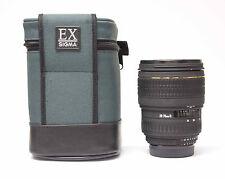 Sigma 28-70mm f/2.8d Aspherical ex objectivement pour Nikon Caméras n.125