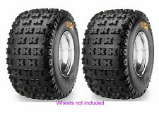 (2) 22X10-11 22-10-11 Maxxis Razr 6-Ply Rear ATV Tires For 09-10 Honda TRX700XX