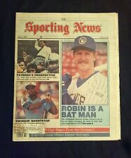 June 2 1986 The Sporting News  Robin Yount  Brewers
