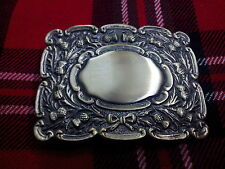 TC Men's Thistle Matt Kilt Belt Buckle Antique Finish/Kilt Belt Buckle Thistle