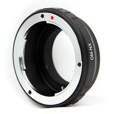 Adattatore Obiettivo OM-NX Adattatore per Olympus OM Lens a Samsung nx1100 nx210