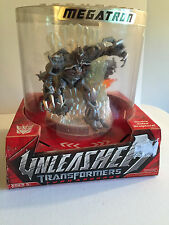 Transformers Unleashed Turnarounds Megatron  Deception Double Sided Sculpture