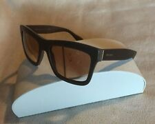 PRADA SPR25Q TFV-3EO Rectangular SUNGLASSES GRADIENT LENSES