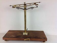 Phillips Harris Scientific Instrument Scales Science Lab Brass Parts Old