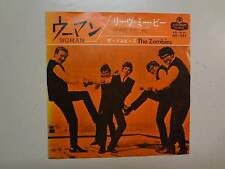 """ZOMBIES: Leave Me Be -Woman-Japan 7"""" 1965 London- King Record Co. HIT-435 PSLGF"""