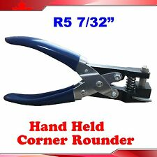 "Hand Hold R5:7/32"" Corner Rounder business ID card PVC paper punch Criedit"
