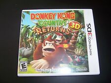 Replacement Case (NO GAME) Donkey Kong Country Returns 3D Nintendo 3DS-Original