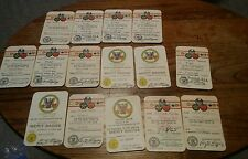 008 Lot Membership BSA Boy Scout Cub Rank Merit Badge Cards Camp Sites etc. 1960