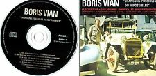 MADE IN CANADA POP ROCK NON MUSIC FRENCH CD BORIS VIAN : CHANSONS POSSIBLES