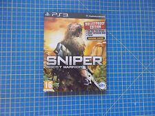 Sniper ghost warrior steelbook extended edition (PS3) neuf