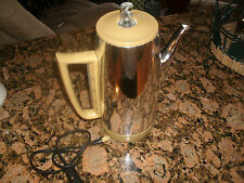GE 9 Cup Coffee Maker / Pot General Electric Percolator Model # A4P15-RARE-NICE
