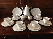 ROYAL TUSCAN England FINE BONE CHINA - 21 teiliges Kaffeeservice für 6 Personen