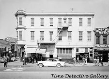 Roma Hotel, 2nd & J Sts., Skid Row, Sacramento, CA-1950s- Classic Photo Print