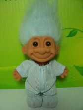 "NIGHTY NIGHT BOY IN PJ'S /PAJAMAS - 5"" Russ Troll Doll - NEW IN ORIGINAL WRAPPER"