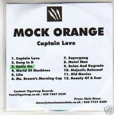 (G707) Mock Orange, Captain Love - DJ CD