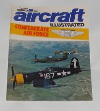 AIRCRAFT ILLUSTRATED APRIL 1976 - CONFERERATE AIR FORCE/SHORT 184 SEAPLANE